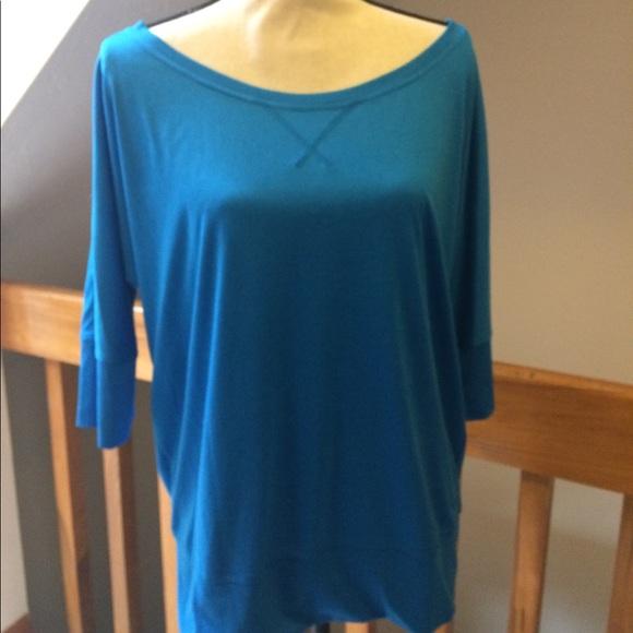 76044d6c572c5 Champion Tops - 🧘🏼 ♂️Champion dolman sleeve blue top ...